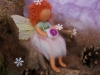 Fairy with snowflakes