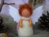 Little standing guardian angel