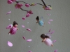 Little spring fairies mobile