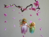 Mother and daughter fairies mobile